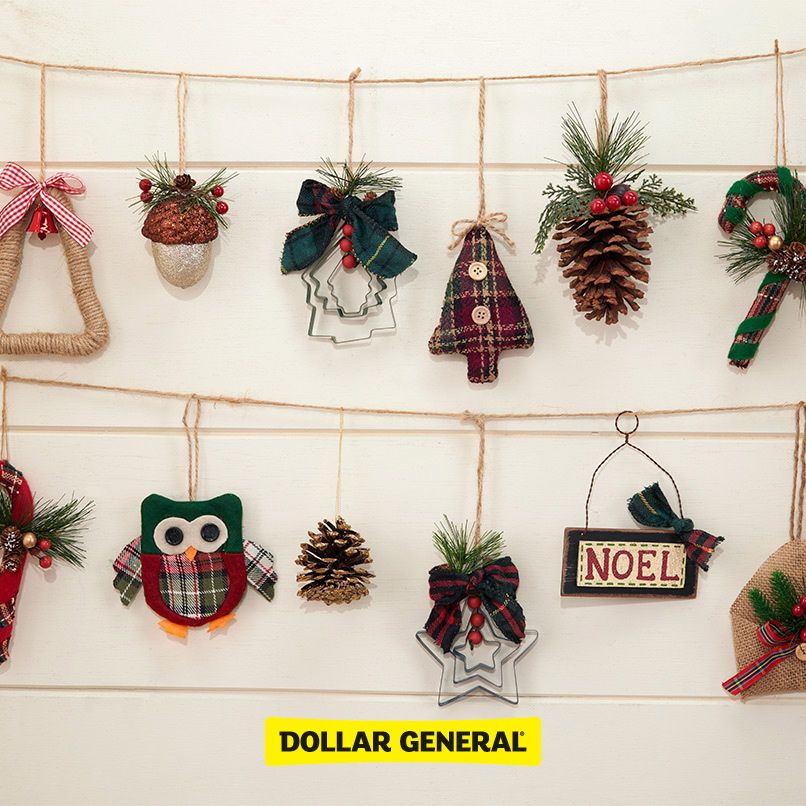 find ornate ornaments at your local dollar general