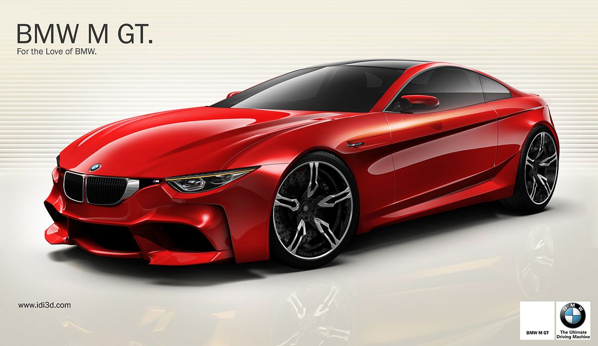 New Bmw M Gt Design Concept Thoughts Carscoops Bmw Bmw Supercar New Bmw