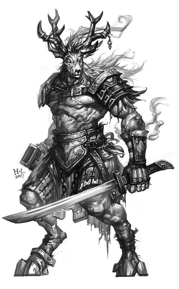 H.L monster NO.2 by hualu.deviantart.com on @DeviantArt