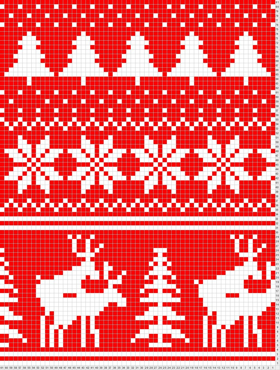 Fair isle scarf antlered creatures with happy ending detail lol naughty christmas sweater pattern fair isle scarf antlered creatures with happy ending detail lol makes it a bit more cheeky bankloansurffo Choice Image