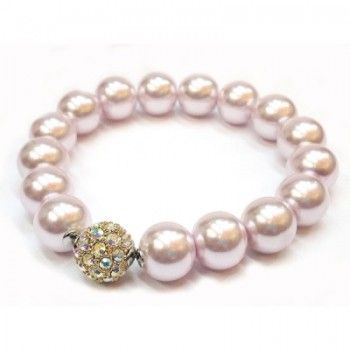 Our Pearl and Swarovski Bracelet is a timeless piece that is available in a variety of colors. Perfect to wear with your favorite pair of jeans or with a little black dress. Would make the perfect gift for someone special or to reward yourself.