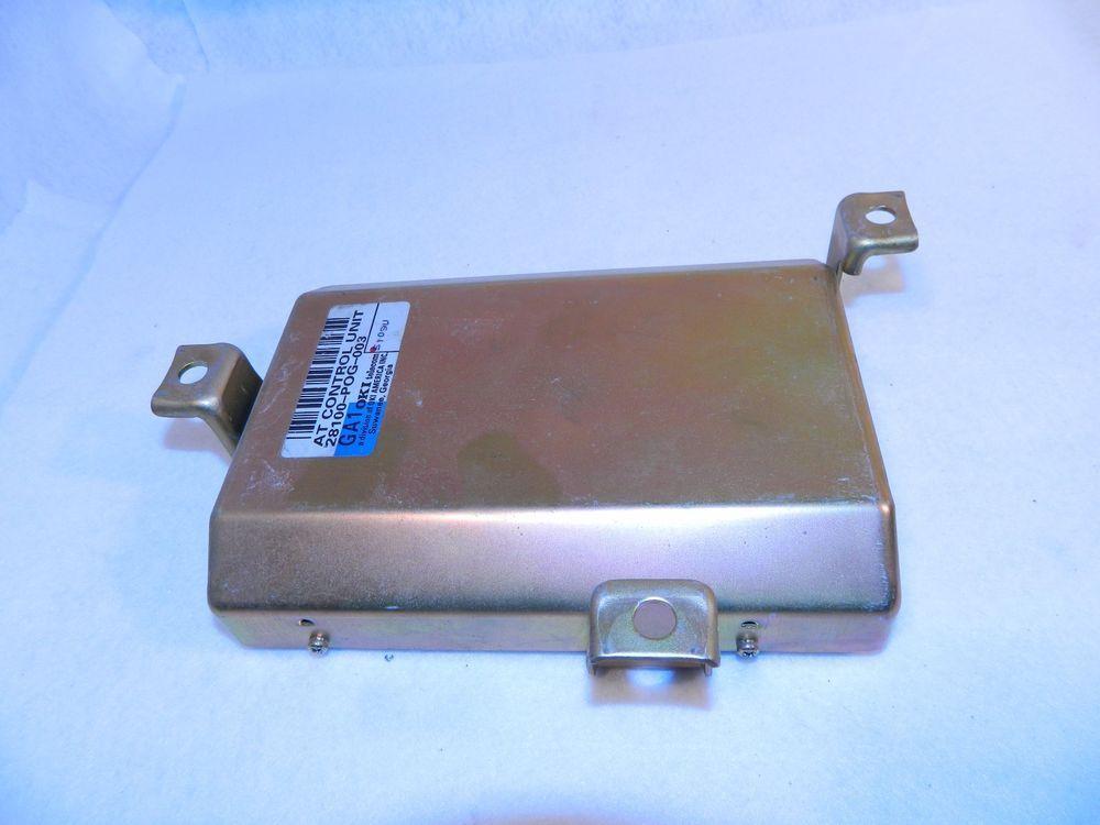 95 96 Honda Accord 28100 Pog 003 Transmission Control Computer Tcu Tcm Honda Accord Honda Prelude Ebay Motors