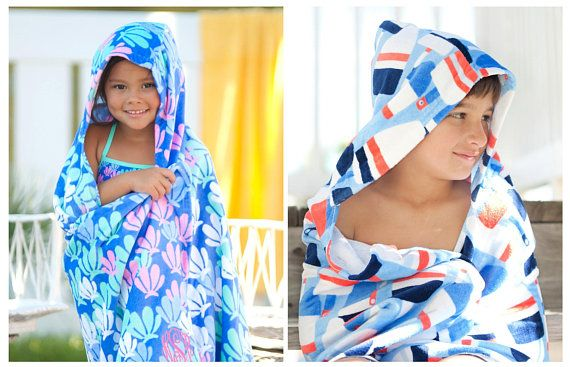 Personalized Under The Sea Kids TowelBoys