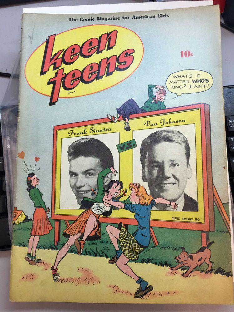 RARE KEEN TEENS #1 1945 *FRANK SINATRA* VAN JOHNSON