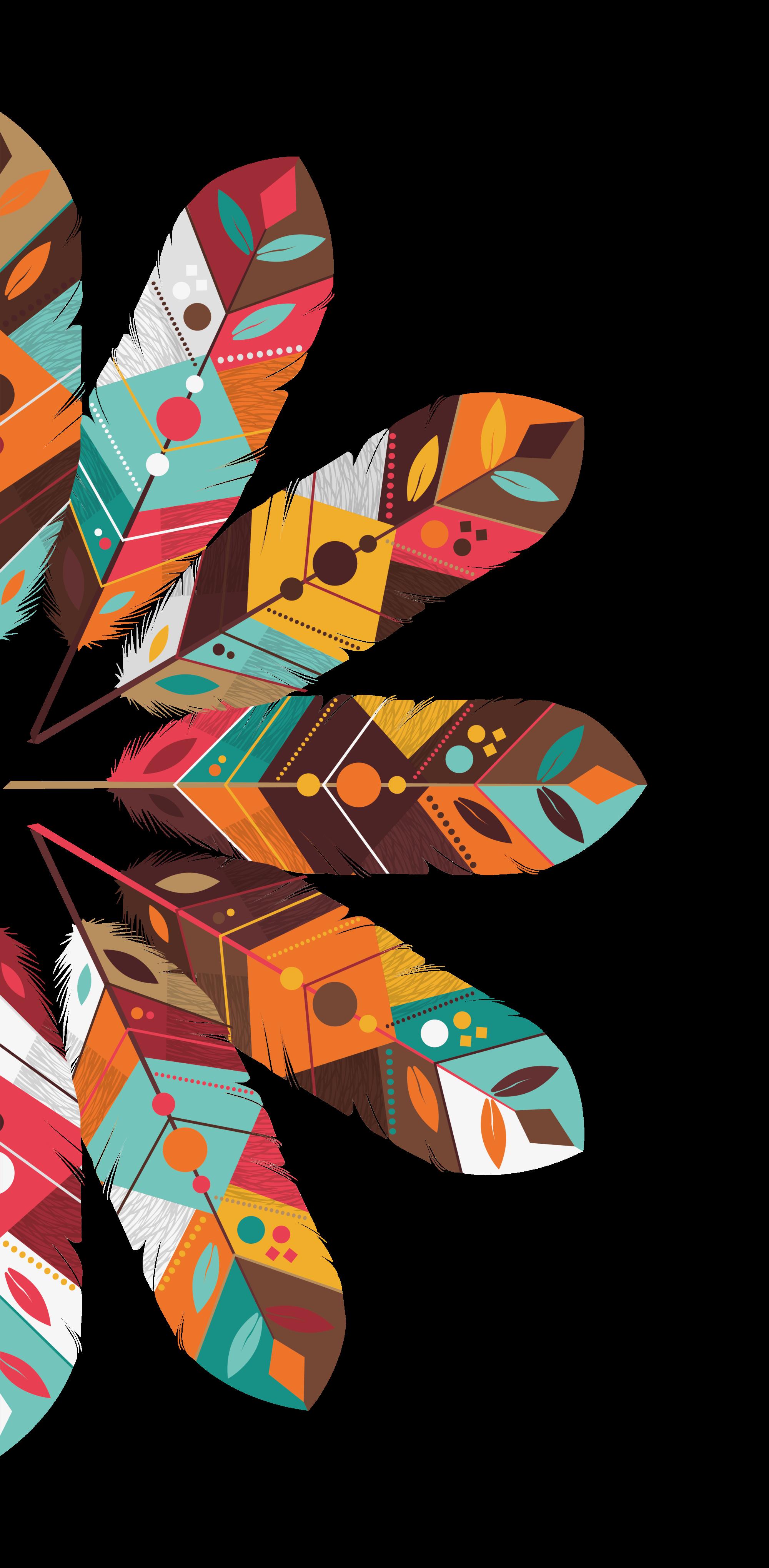 Pocahontas Indios Nativos Boho Wallpaper Feather Wallpaper Art
