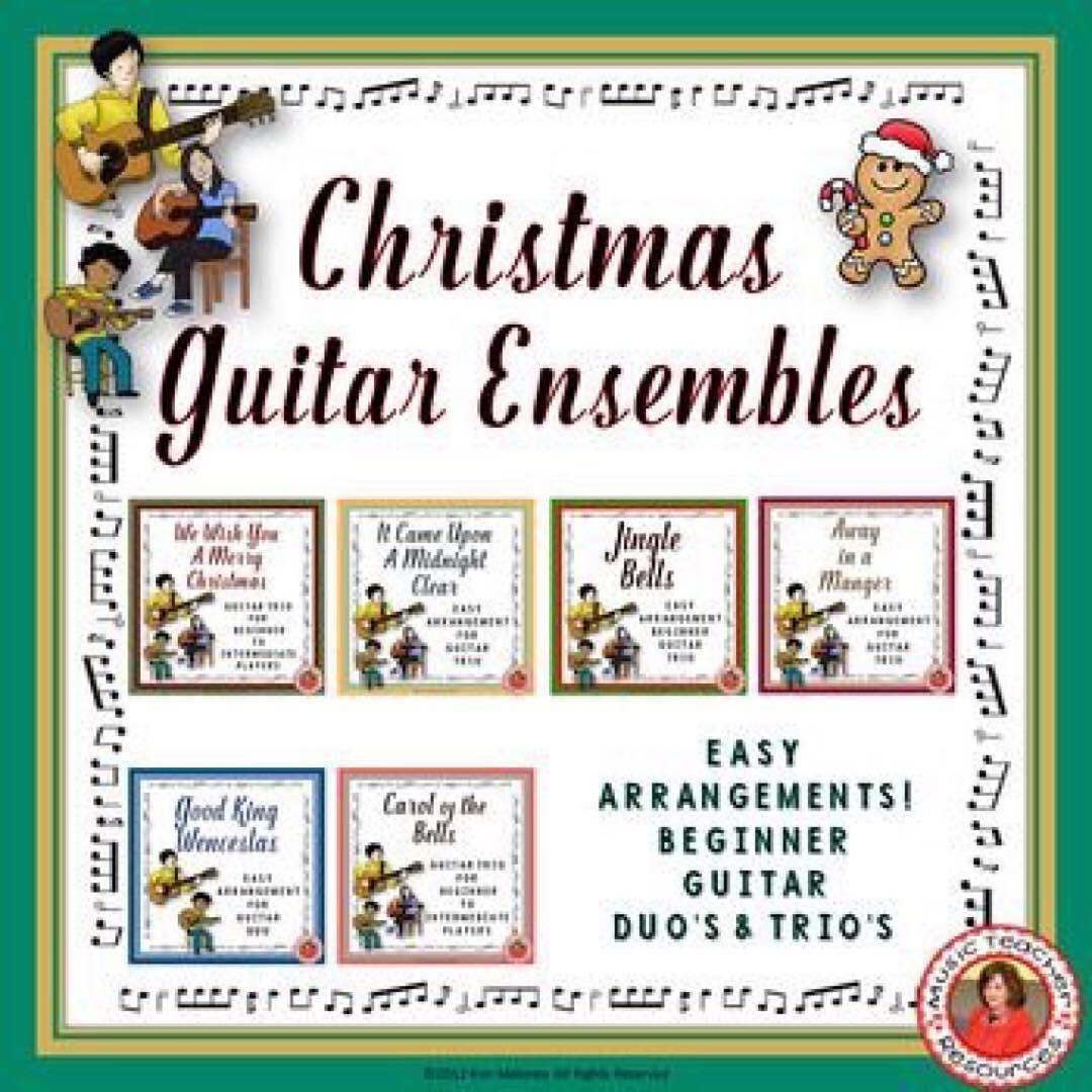 Christmas Music Ensembles Six Guitar Arrangements