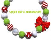 W(e)il'd Hair & Accessories specializes in fun and colorful chunky bubblegum necklaces and bracelets for children & adults! Enter coupon code HOLIDAY14 for 20% discount.