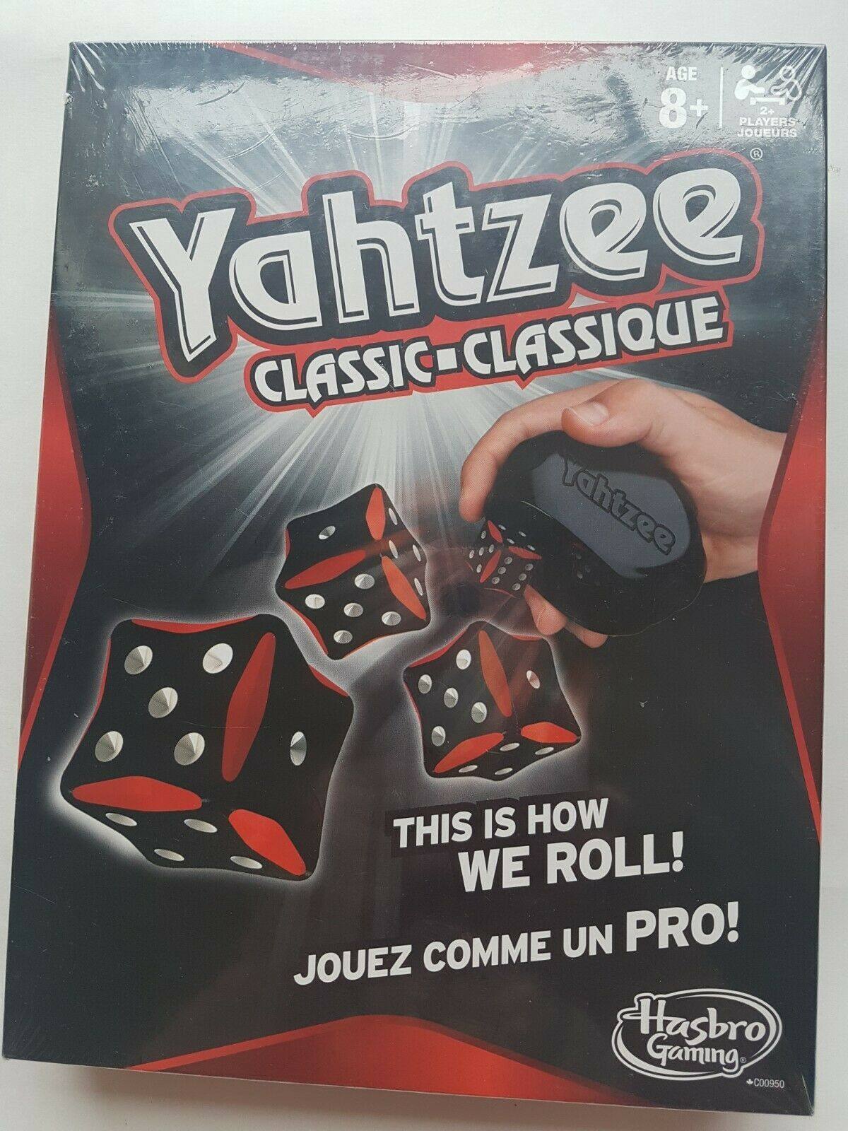 Details about yahtzee classic dice game New! hasbro ages 8