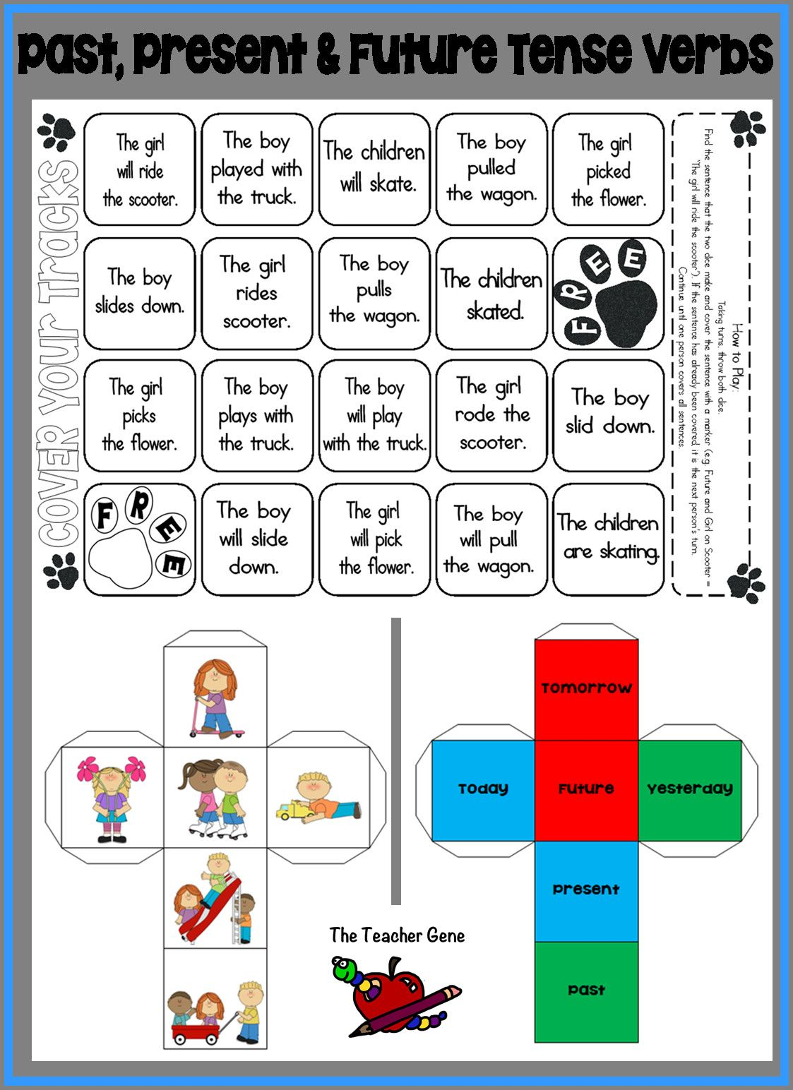 6 Verb Worksheets Ing In