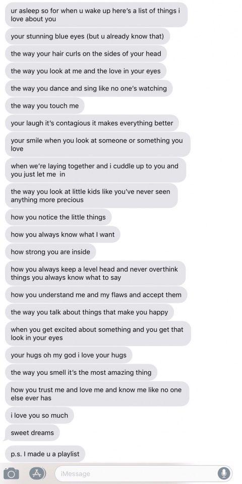 Dating relationship goals text