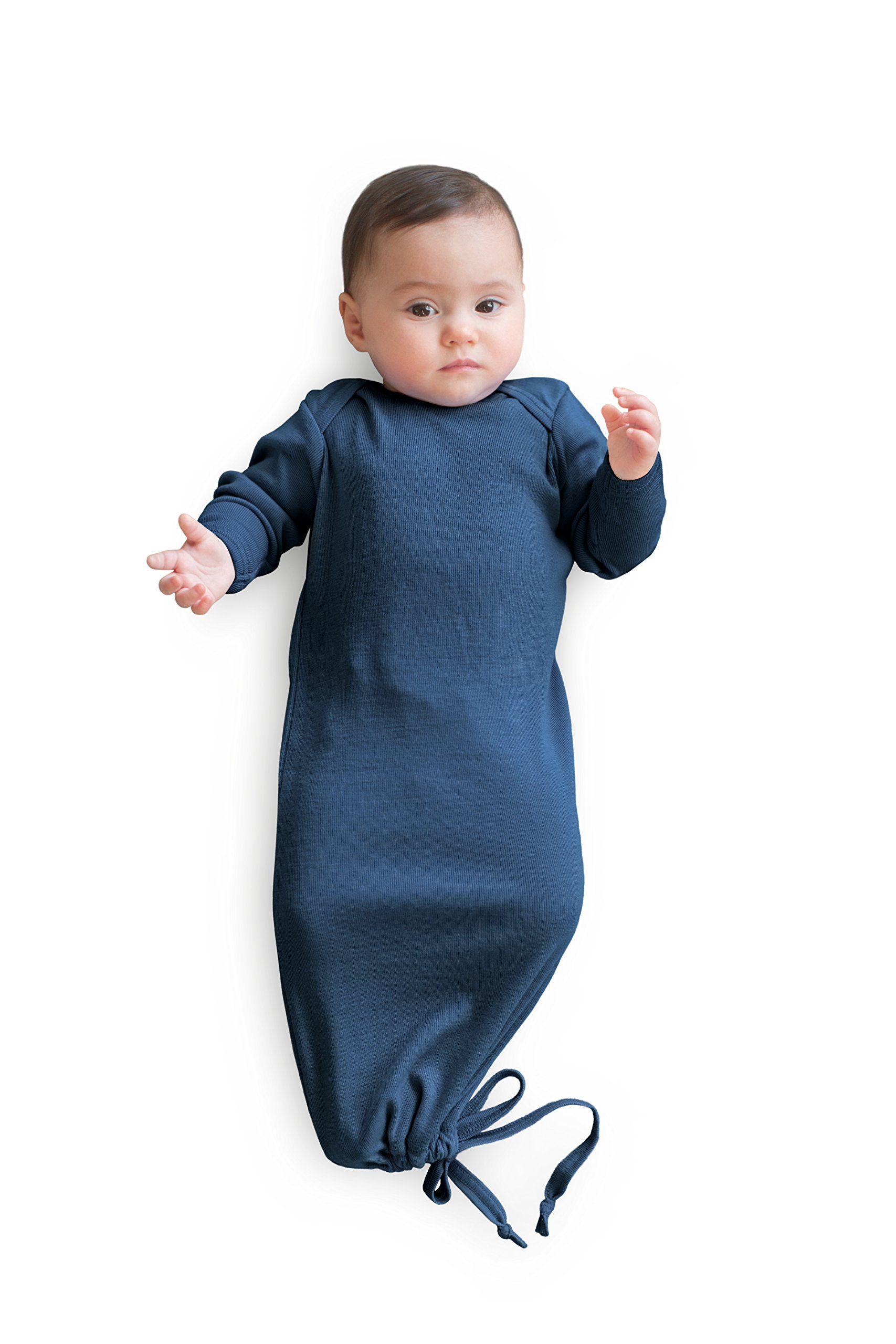 80a68fb40ac2 Pure Merino Wool Baby Sleep Sack. Kids Infant Gown Sleeper Bag. Blue ...