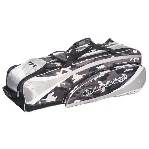 Bat Bags For Baseball Sports Louisville Slugger Camo Wheeled Equipment Bag