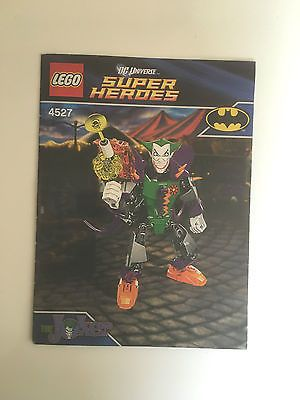 Lego 4527 the joker #instruction #manual only no #bricks,  View more on the LINK: http://www.zeppy.io/product/gb/2/361765495584/