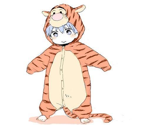 Kuroku no basket /this is just so adorable