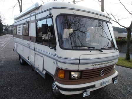 Hymer vintage mercedes benz hymer s611 vollintegriertes for Mercedes benz recreational vehicles