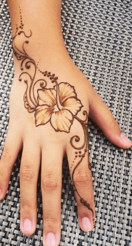 Wrist Bracelet Tattoo Tribal Hand Tattoos Pretty Hand Tattoos Flower Tattoo Hand