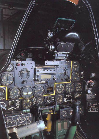 P-47D cockpit.