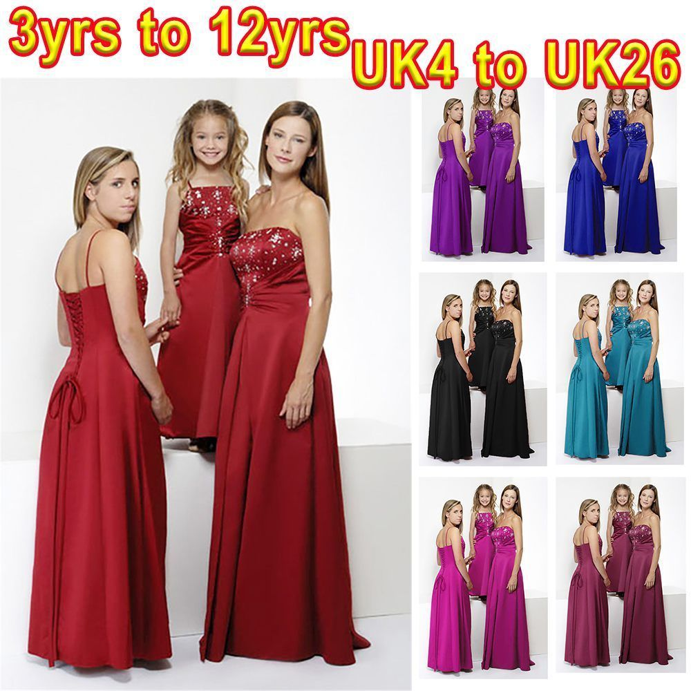 Quality sequinse beads maxi long junior bridesmaid dress for women