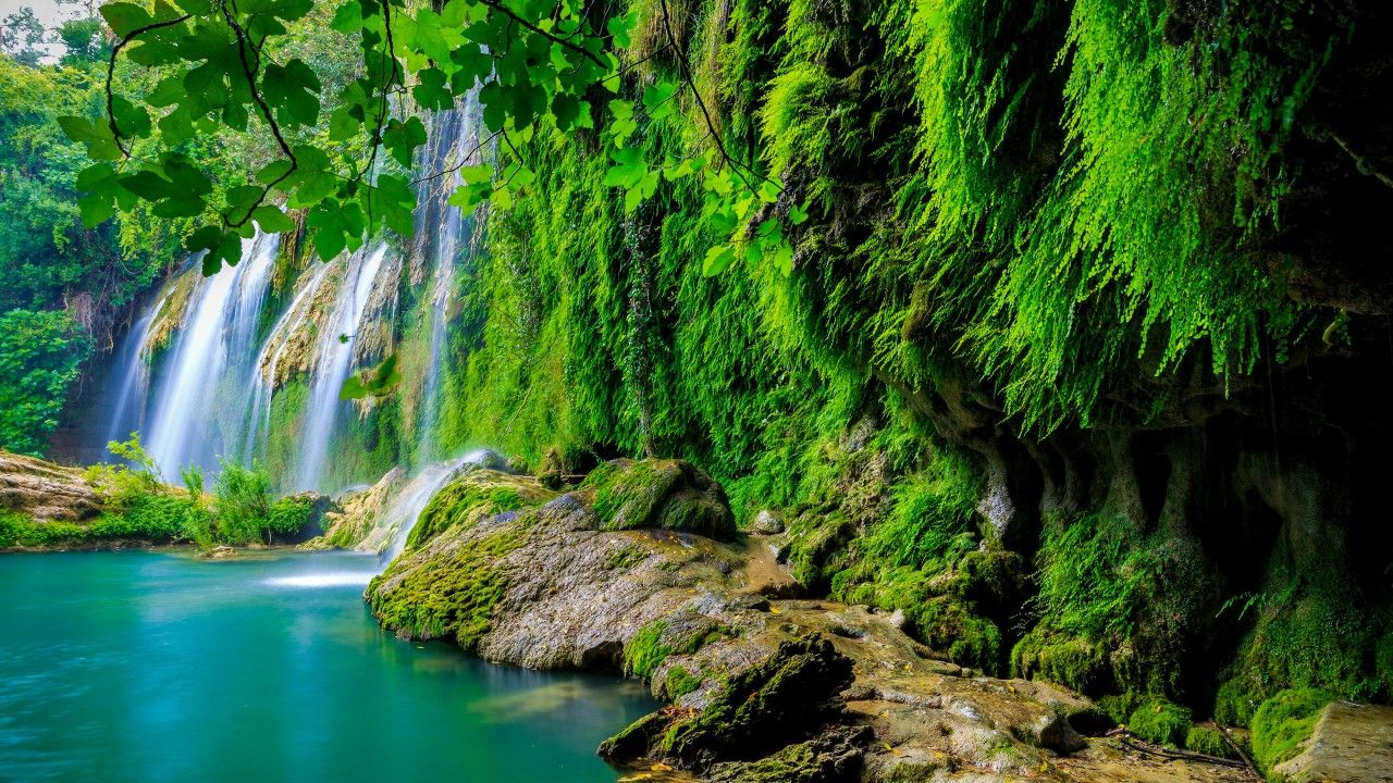 خلفيات طبيعية عالية الجودة 4k Ultra Hd Tecnologis Nature Desktop Landscape Wallpaper Waterfall