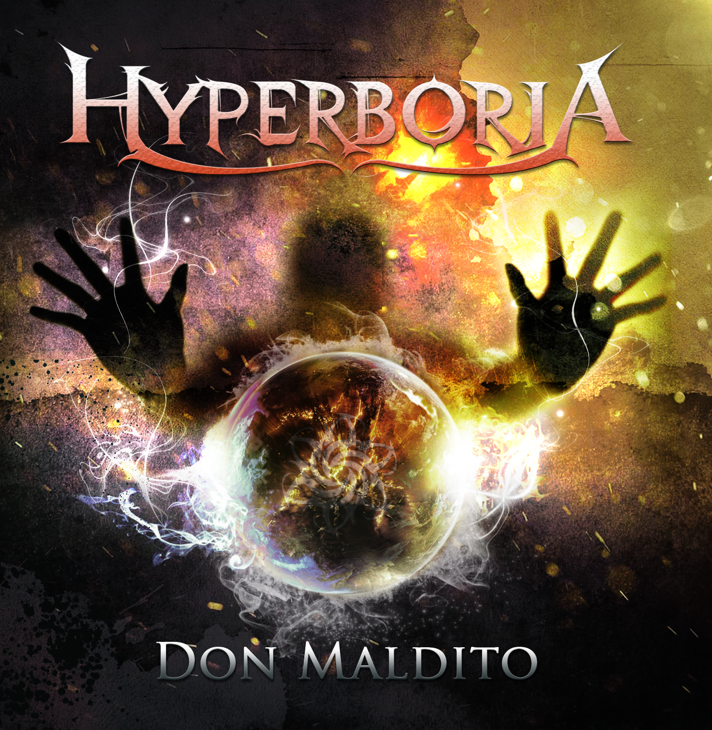 Hyperboria - Don Maldito (Portada CD) By Creation's Work 2014.