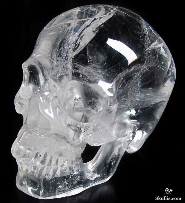 Quartz Rock Crystal Crystal Skull I would so collect these if I could find them!