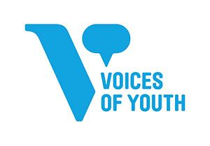 Logos of the Alphabet - letter V logo - Voices of youth logo