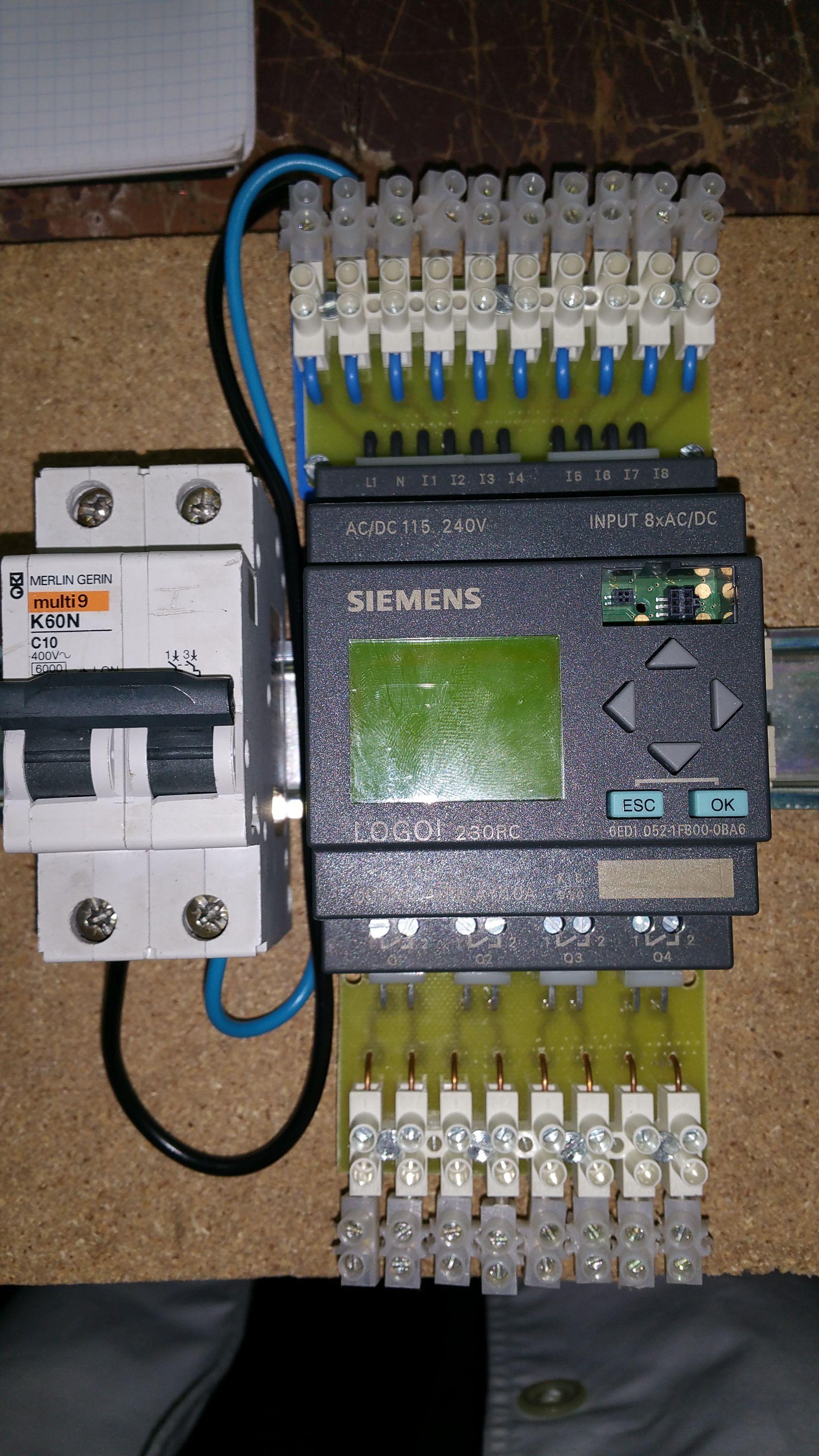 Ciclo ARI  Autómata LOGO Siemens | Electronics | Electrical