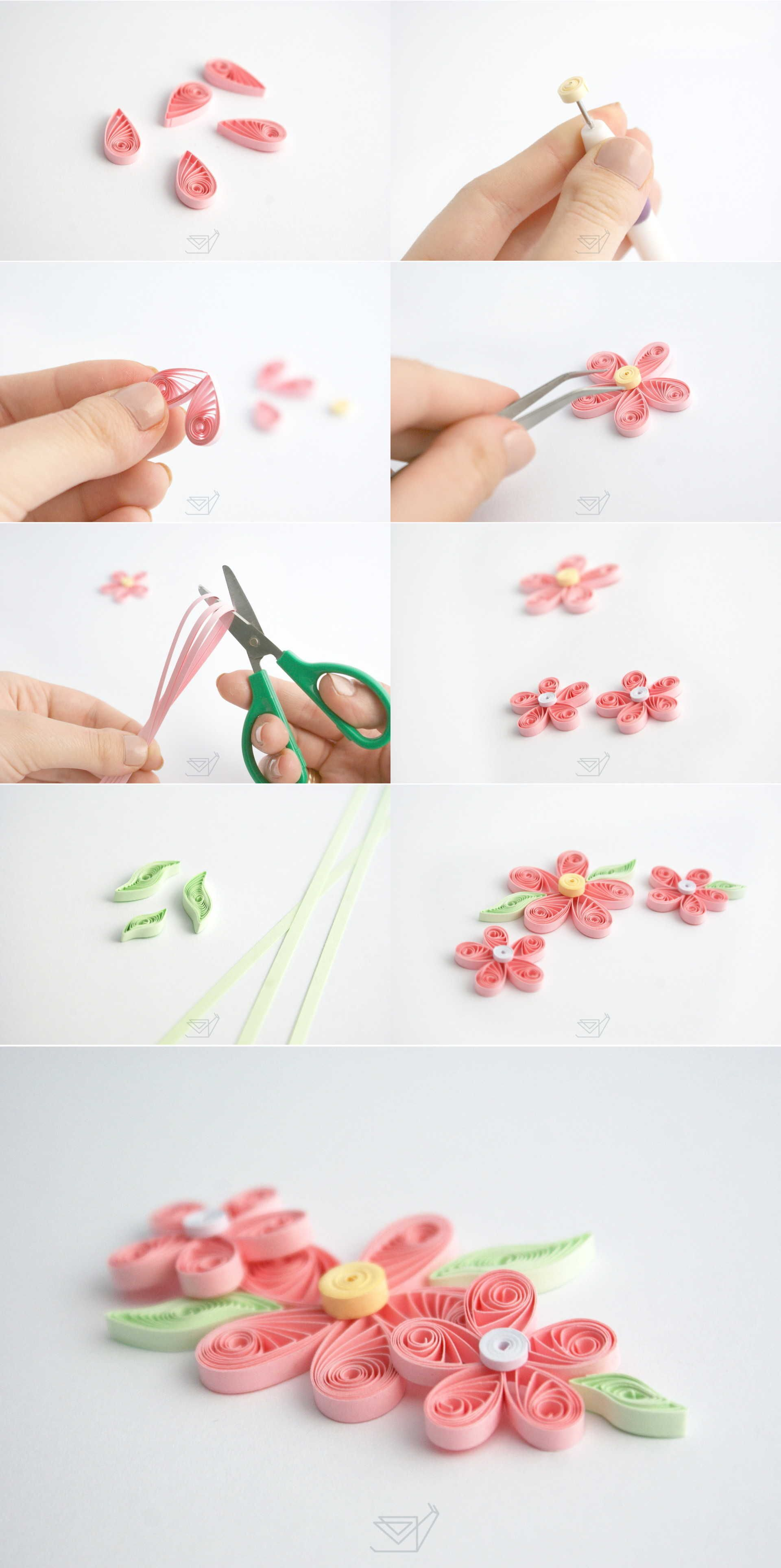Quilling Tutorial Basic Flower Easy Quillig For Beginners Poradnik Jak Zrobic Kwiatek Quilling Paper Quilling For Beginners Quilling Paper Craft Quilling Art