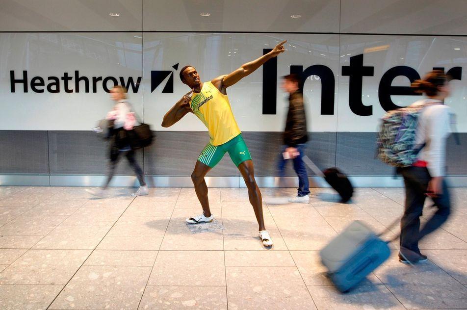Usain Bolt. Crédits : AFP/ROSIE HALLAM / ROSIE HALLAM