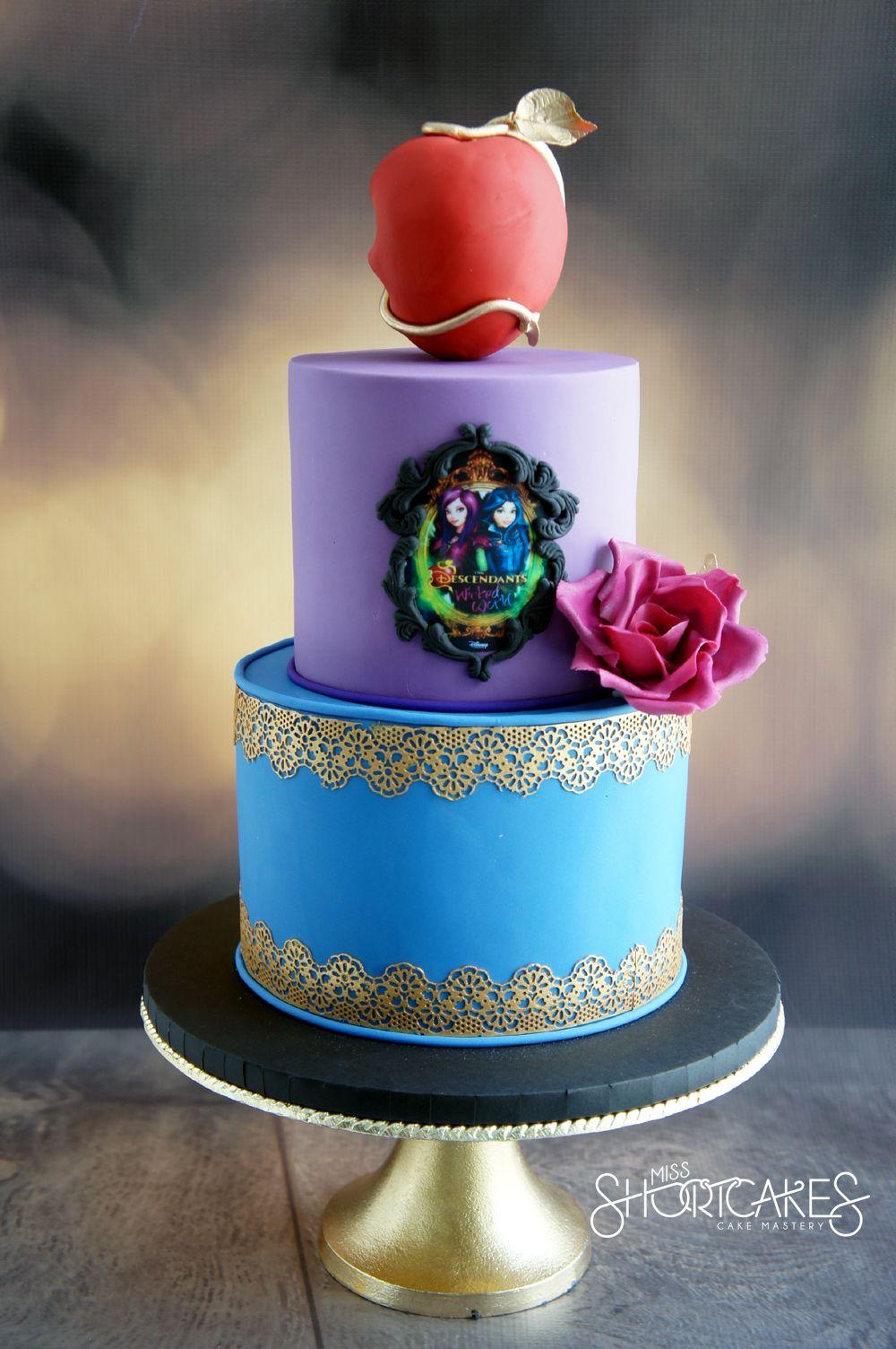 Descendants inspired cake Birthday Cakes for Kids Pinterest