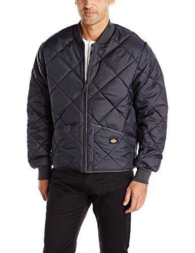 Dickies Mens Water Resistant Diamond Quilted Nylon Jacket My Boys