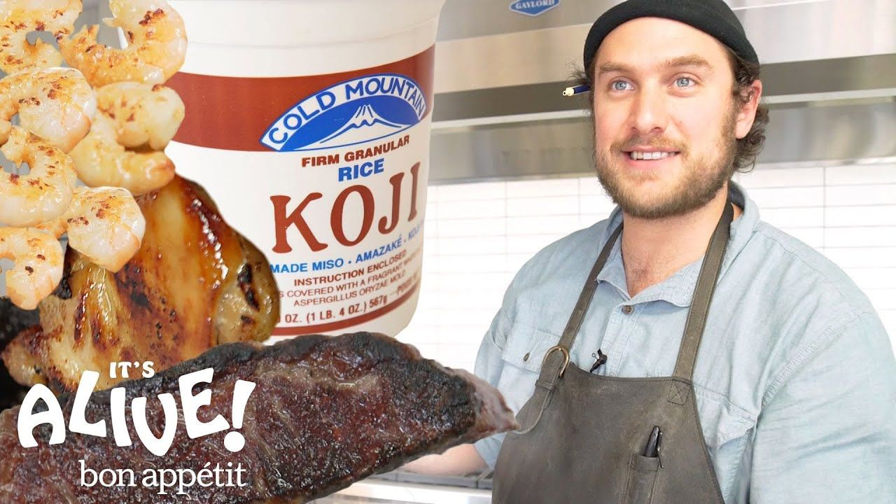 Brad Uses Moldy Rice Koji To Make Food Delicious It S Alive Bon Ap Food To Make Fermented Foods Benefits Food