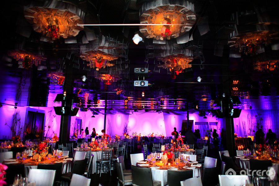 awesome lighting and modern decor our colors too deep purple