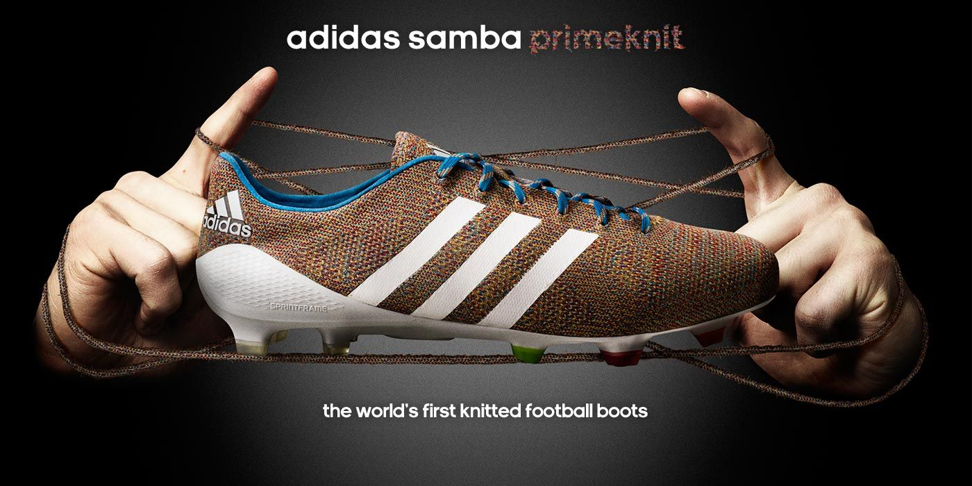 adidas Samba Primeknit FG Football Boots, Cleats, Limited Edition