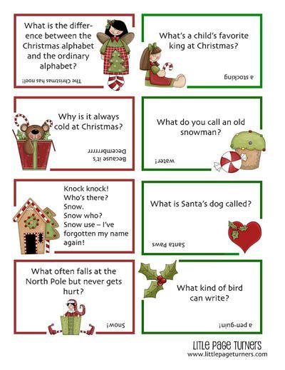 Christmas Jokes For Kids Pdf Printable Christmas Jokes For Kids Funny Christmas Jokes Free Christmas Printables