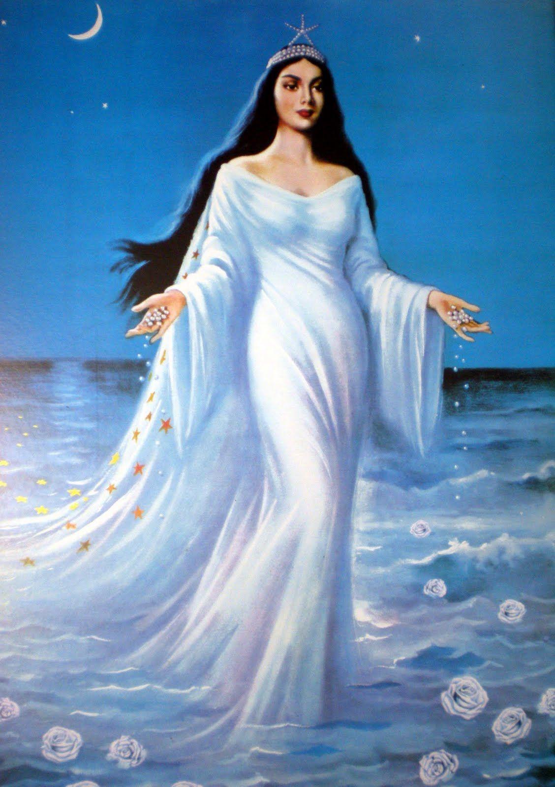 Yemanja Venus Eternelle Imperatrice Du Plaisir Et Des Eaux