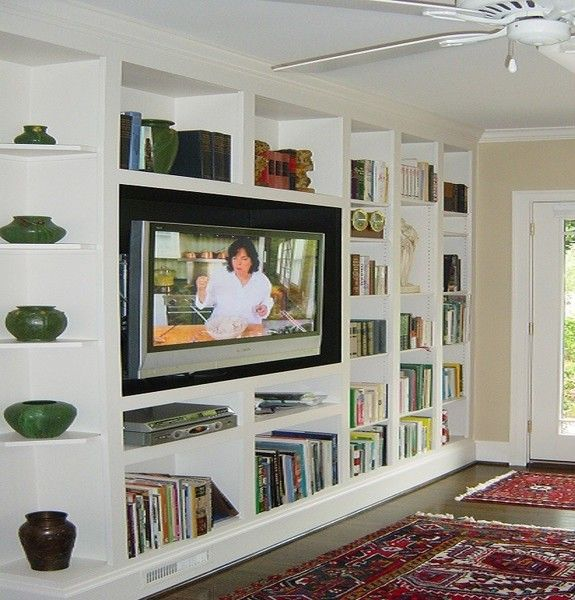 Bookcase Entertainment Wall Unit In 2020 Built In Wall Units