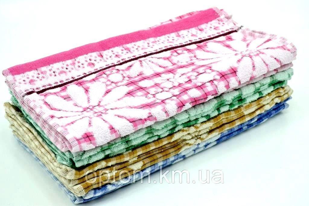 кухонные махровые полотенца