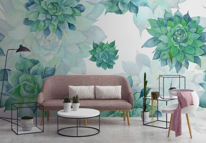 ▷ 1001 + modèles de papier peint tendance phares Decoration