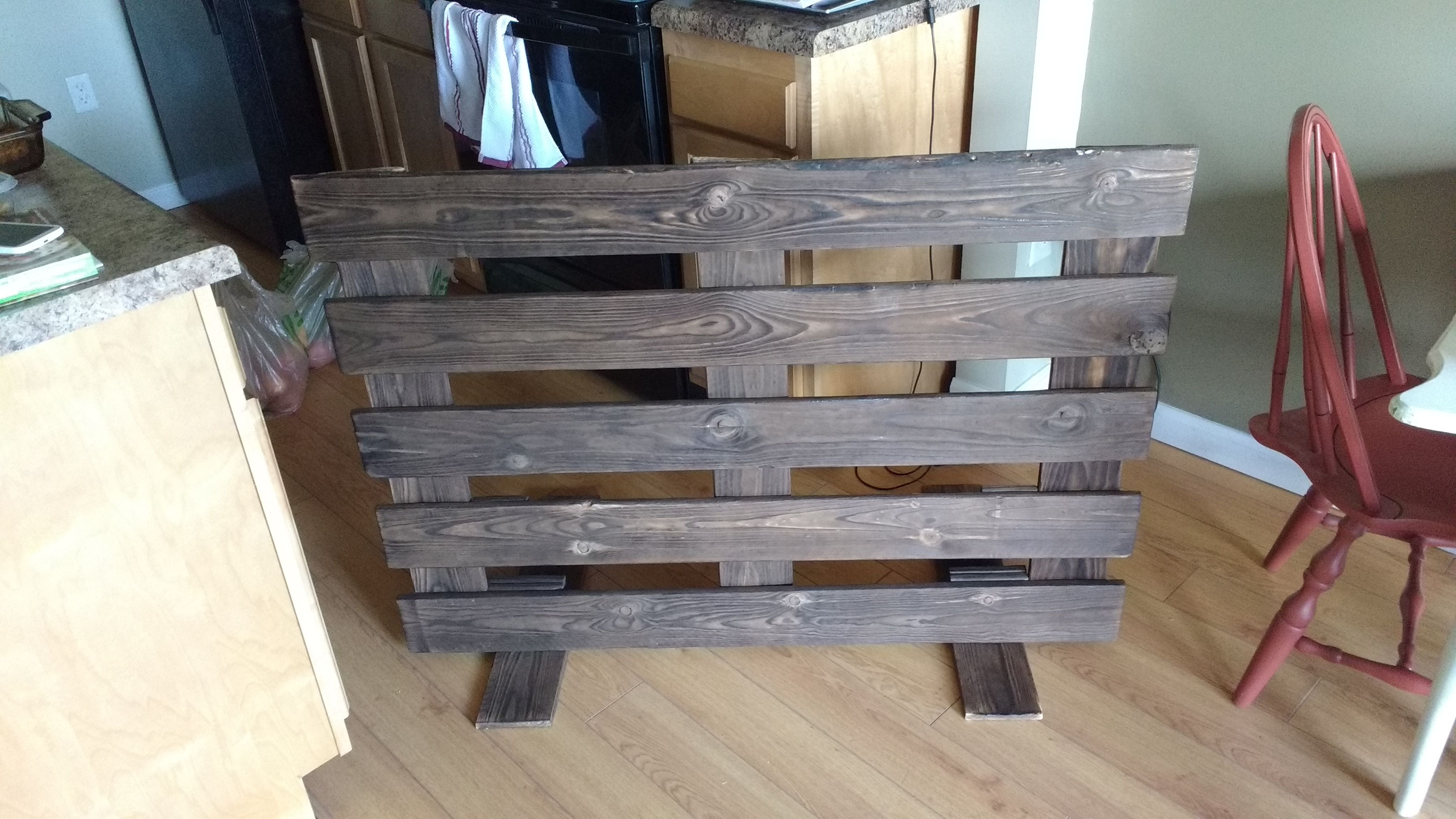 Free Standing Baby Gate Diy Projects Pinterest Baby Gates
