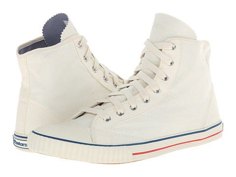 Tretorn Hockeyboot Canvas Antique White - Zappos.com Free Shipping BOTH Ways