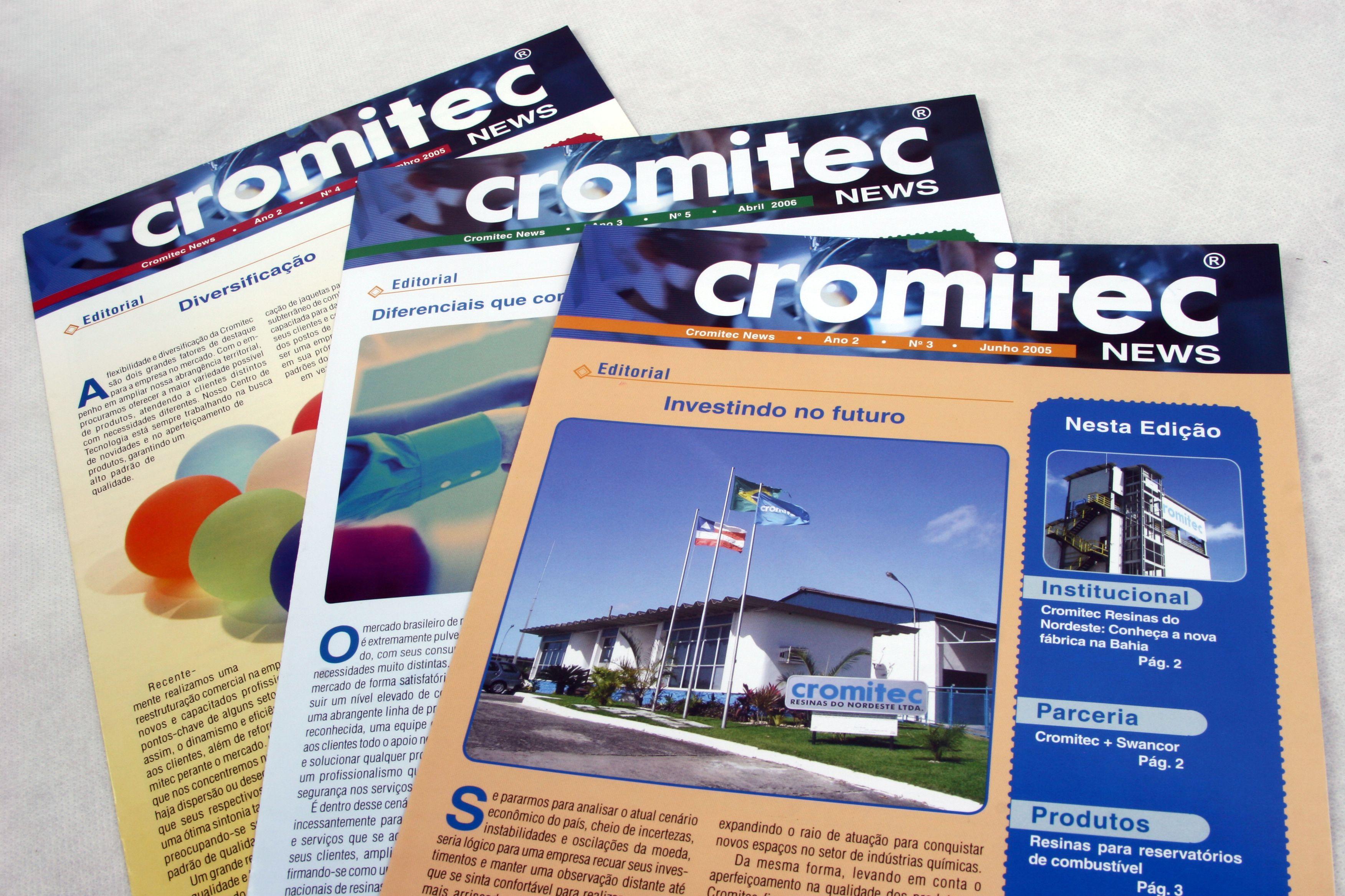 Matérial de Comunicação interna - Cromitec