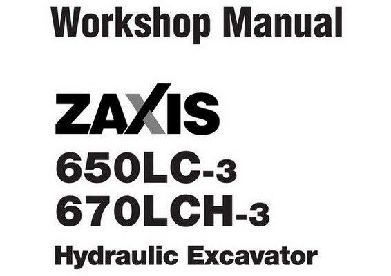 Hitachi ZX650LC-3 & ZX670LCH-3 Hydraulic Excavator