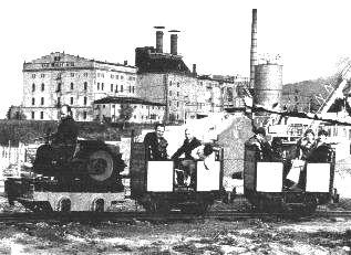 Werners Gartenbahn-Früher