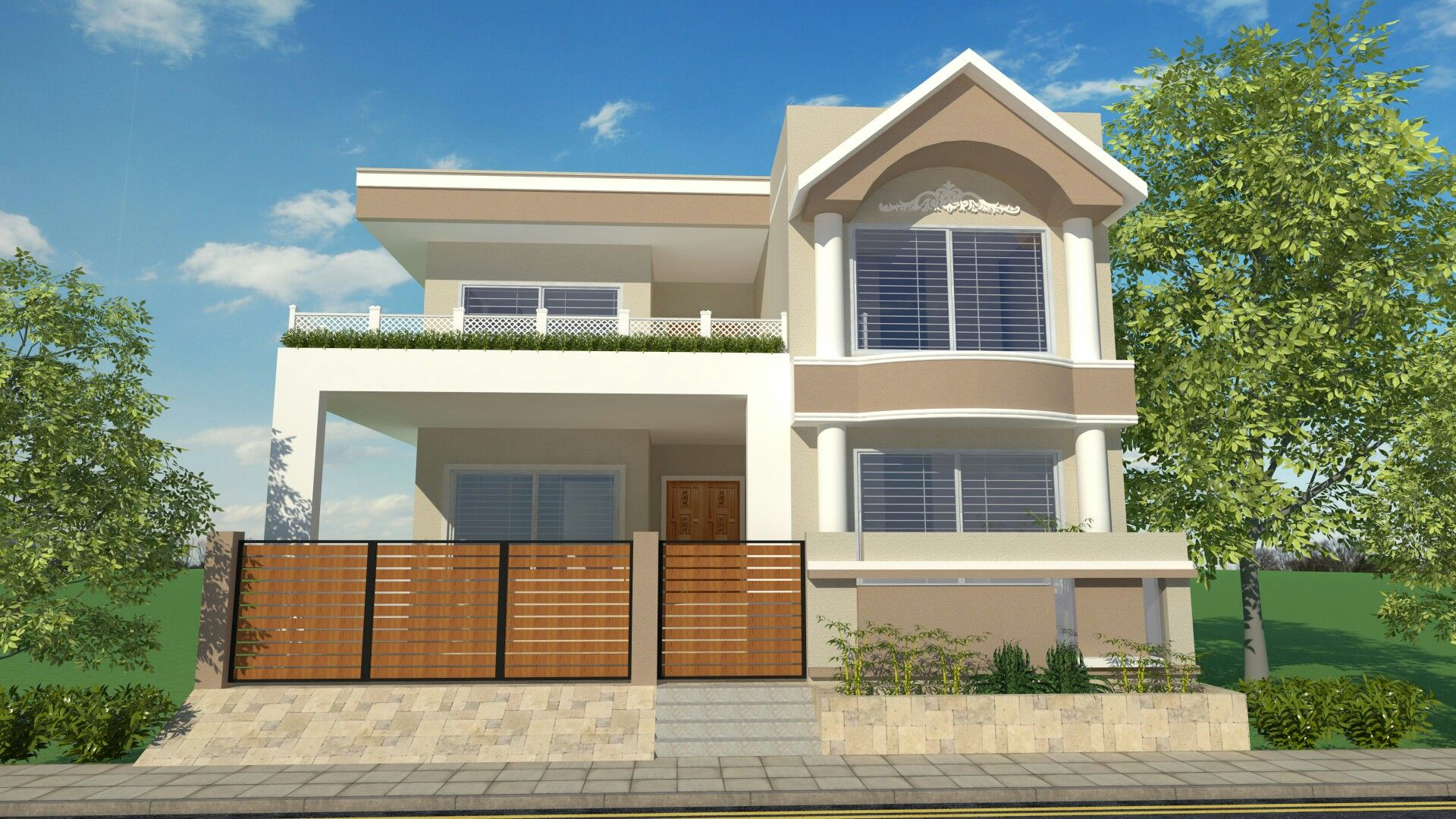 Royal Style Home House Design Terrace Design Modern House Facades