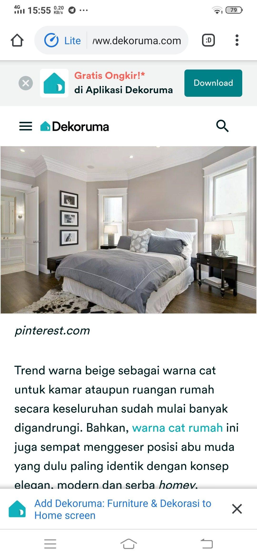 Cat Kamar Abu Muda