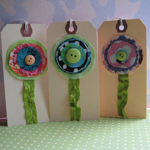 flowertags | New flower button tags! | Laurie | Flickr