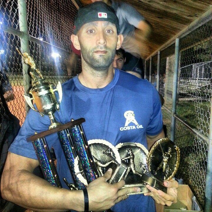 ISPSO Triple Crown Winner Carlos Ruiz Miami SLOWPITCH