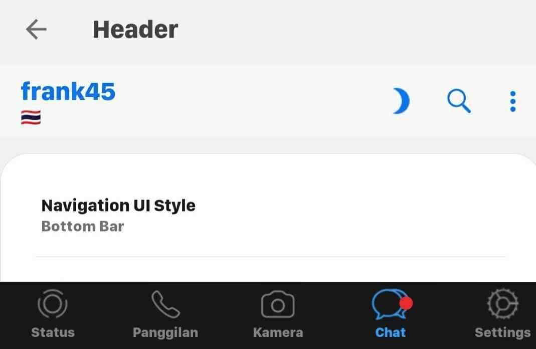 Fouad Ios V8 39 Whatsapp By Mbmods Aplikasi Desain Antarmuka Iphone