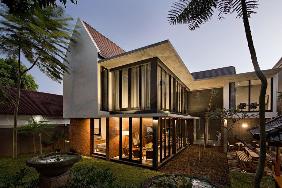 บ านหล งคาส งโปร ง บ านโมเด ร นท เหมาะก บไทย บ านไอเด ย แบบบ าน ตกแต ง บ าน เว บไซต Tropical Architecture Design Modern Tropical House Tropical House Design